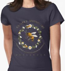 Claire's Apothecary (Bee Version) Womens Fitted T-Shirt