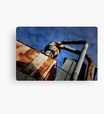 blue Sky Joinery Canvas Print