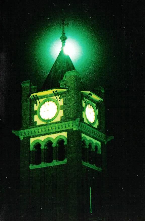 Town Clock by Tanya Menzies