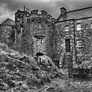 The court yard - Eilean Donan Castle by James Anderson