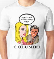Comics Lieutenant Columbo Vintage Unisex T-Shirt
