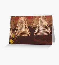 Incensed Greeting Card