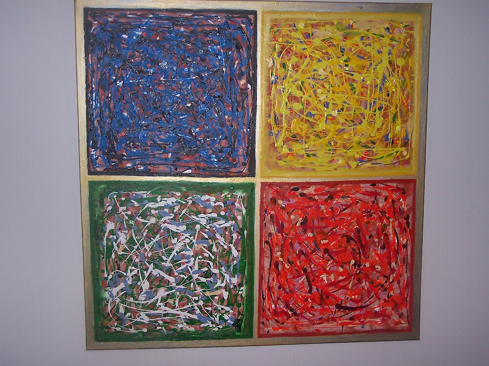 Colours of Chaos (Kaos) by Matai (Max) Volau