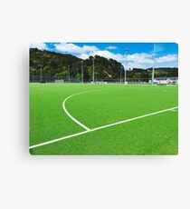 Artificial Sports Field Canvas Print