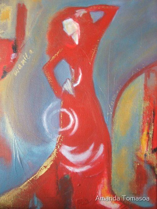 Red Fashion by Amanda Tomasoa