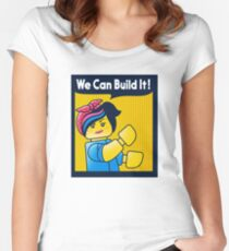 Build it! Women's Fitted Scoop T-Shirt