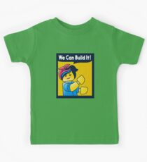 Build it! Kids Tee