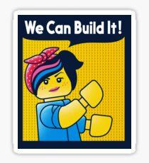 Build it! Sticker