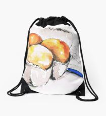 Eggs and Whisk (Kitchen Ink 2) Drawstring Bag