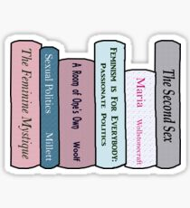 Feminist Literature Sticker