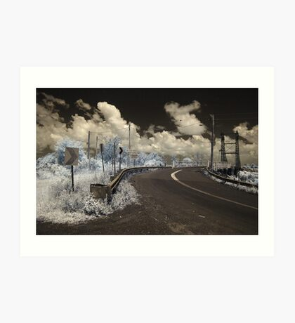 Glebe Bridge Art Print