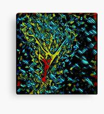 Quantum Web Of Infinite Space Canvas Print
