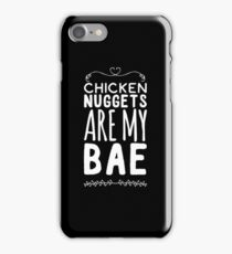 Chicken Nuggets Are My Bae iPhone Case/Skin