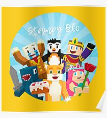 Stampy Cat and His Friends Poster