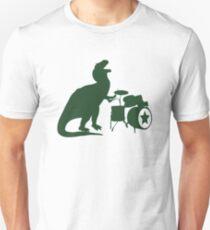 T-Rex Drummer Unisex T-Shirt