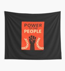 Power to the People Wall Tapestry