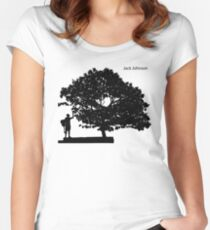 Jack Johnson Women's Fitted Scoop T-Shirt