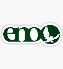 Eno - Forest Green Sticker
