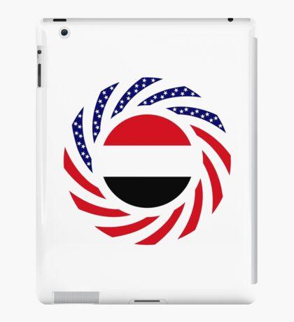 Yemeni American Multinational Patriot Flag Series iPad Case/Skin