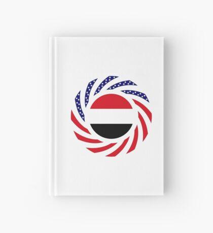 Yemeni American Multinational Patriot Flag Series Hardcover Journal
