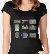 80s Essence Women's Fitted Scoop T-Shirt