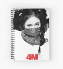 Hyuna 4minute Spiral Notebook