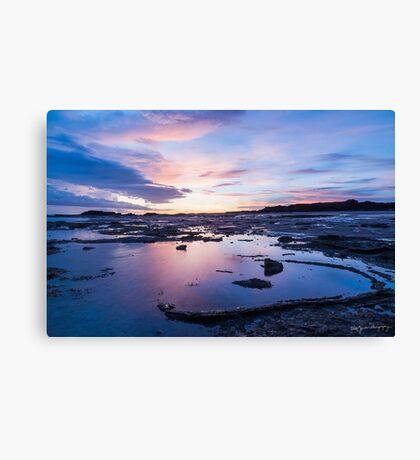 Wet Season Sunset Canvas Print