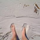 squeaky sand feet by Devan Foster