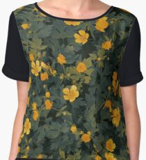 Fantastic flowers Chiffon Top