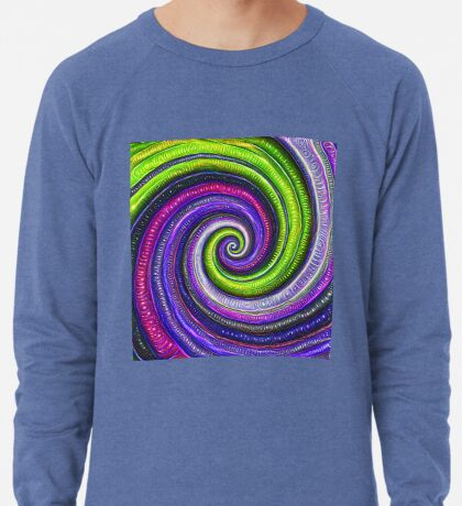 Source #DeepDream #Art Lightweight Sweatshirt