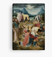 Gathering Of Manna 1510 Canvas Print