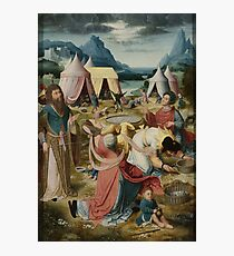 Gathering Of Manna 1510 Photographic Print