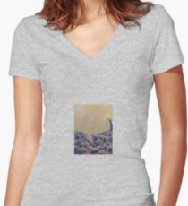 We All Come From Stars by 'Donna Williams' Women's Fitted V-Neck T-Shirt