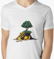 insel baum  Men's V-Neck T-Shirt