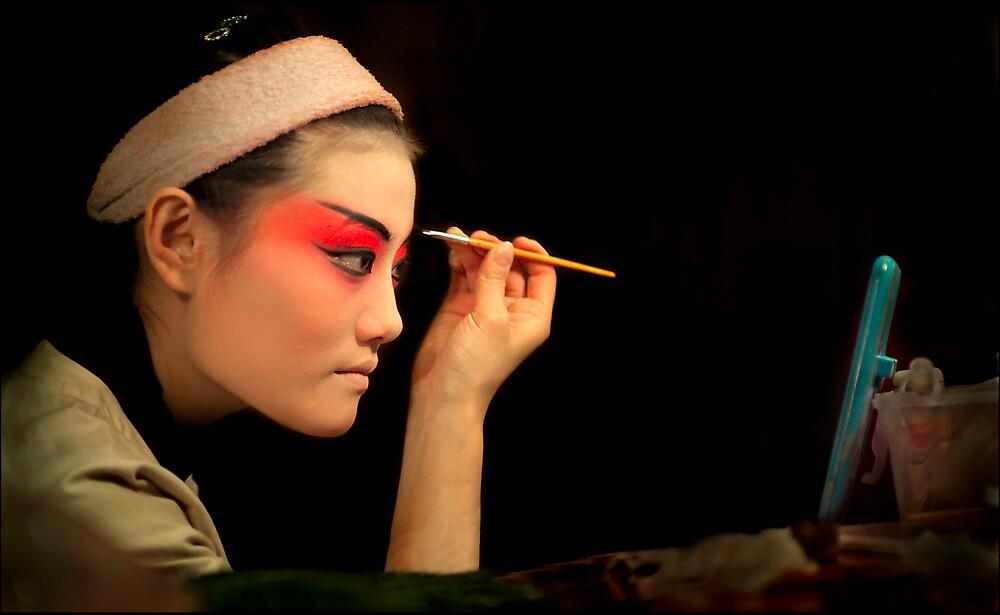 Opera Performer 1, Beijing, China 2006 by John Tozer