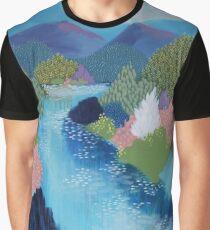 Summer Hills Graphic T-Shirt