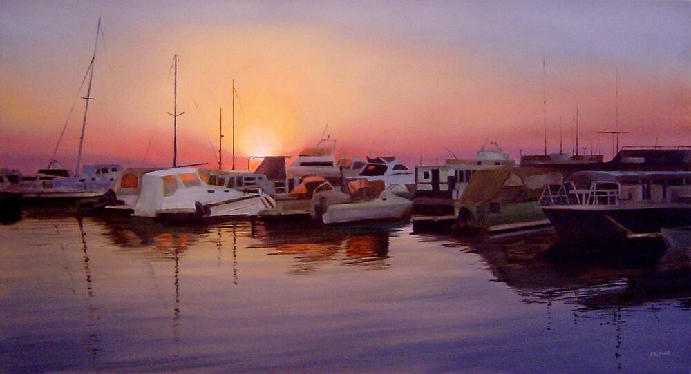 Marina Morning by Martin Clarke