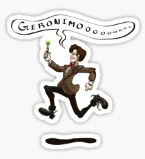 Geronimo! Sticker
