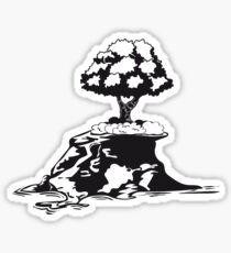 insel baum  Sticker