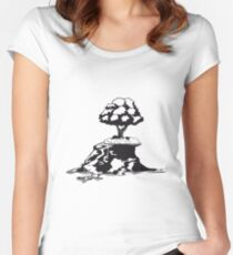 insel baum  Women's Fitted Scoop T-Shirt