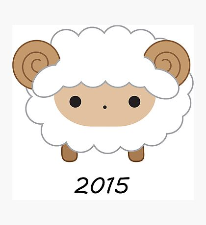 Year of the Sheep - 2015 Photographic Print