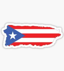 Puerto Rico Colors Sticker