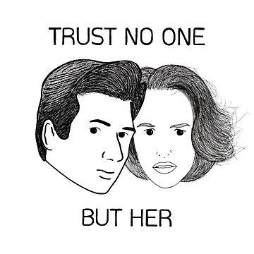 Mulder & Scully by Salicath