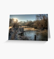 Bridge on the River Itchen Greeting Card
