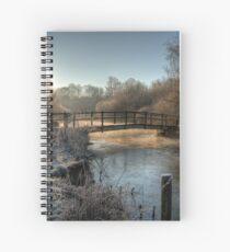 Bridge on the River Itchen Spiral Notebook