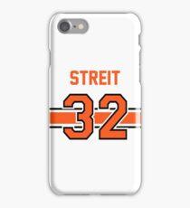 Mark Streit - Philadelphia Flyers in WHITE iPhone Case/Skin