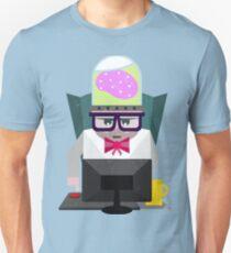 web developer illustration Unisex T-Shirt