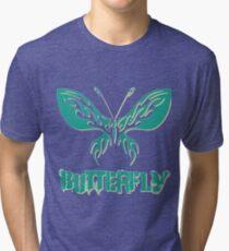 Beautiful amazing butterflies Tri-blend T-Shirt