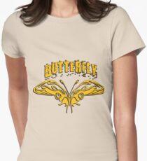 Beautiful amazing butterflies Womens Fitted T-Shirt