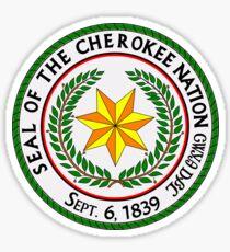 Cherokee Nation Sticker